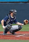 March 29, 2012: BYU Cougars catcher Wes Gunenther plays against the Nevada Wolf Pack during their NCAA baseball game played at Peccole Park on Thursday afternoon in Reno, Nevada.