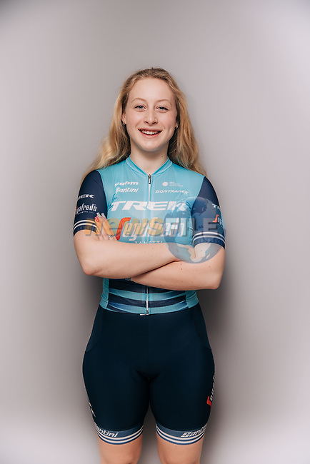 Elynor Backstedt (WAL) part of the Trek–Segafredo 2021 womens team.<br /> Picture: Jojo Harper/Trek Factory Racing   Cyclefile<br /> <br /> All photos usage must carry mandatory copyright credit (© Cyclefile   Jojo Harper/Trek Factory Racing)