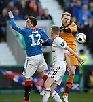 Lee Robinson saves from Nicky Clark