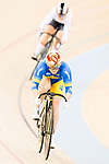 Liubov Basova of the Ukraine team competes in the Women's Sprint - Quarterfinals as part of the 2017 UCI Track Cycling World Championships on 13 April 2017, in Hong Kong Velodrome, Hong Kong, China. Photo by Marcio Rodrigo Machado / Power Sport Images