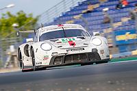 #91 Porsche GT Team Porsche 911 RSR - 19 LMGTE Pro, Gianmaria Bruni, Richard Lietz, Frederic Makowiecki, 24 Hours of Le Mans , Race, Circuit des 24 Heures, Le Mans, Pays da Loire, France