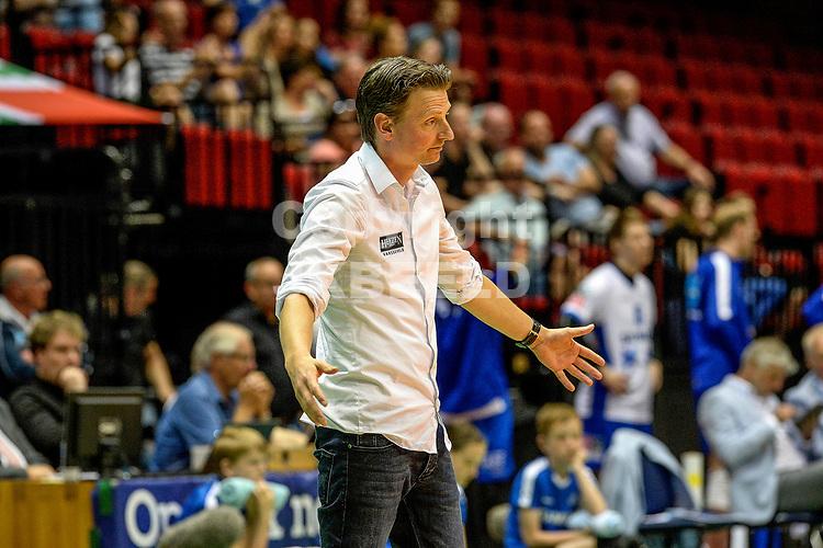 GRONINGEN - Volleybal, Lycurgus - Achterhoek Orion, final playoff 1 seizoen 2018-2019,  21-04-2019,  Martijn van Goeverden