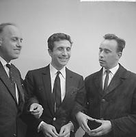 Gilbert Becaud en Hollande, 29 mai 1964