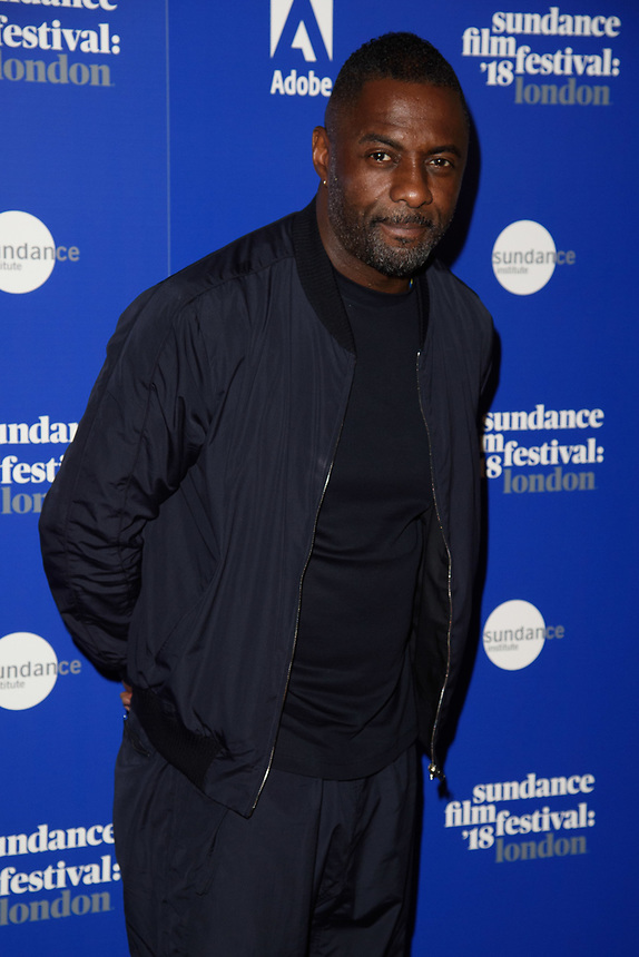 "Idris Elba<br /> at the ""Yardie"" premiere as part of the Sundance London Festival 2018, Picturehouse Central, London<br /> <br /> ©Ash Knotek  D3404  01/06/2018"