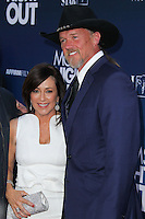 """HOLLYWOOD, LOS ANGELES, CA, USA - APRIL 29: Patricia Heaton, Trace Adkins at the Los Angeles Premiere Of TriStar Pictures' """"Mom's Night Out"""" held at the TCL Chinese Theatre IMAX on April 29, 2014 in Hollywood, Los Angeles, California, United States. (Photo by Xavier Collin/Celebrity Monitor)"""