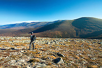 The Northern Corries from Geal Charn, Cairngorm National Park, Badenoch and Speyside
