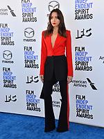SANTA MONICA, CA: 08, 2020: Aubrey Plaza at the 2020 Film Independent Spirit Awards.<br /> Picture: Paul Smith/Featureflash