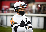 MAY 15, 2021: Joel Rosario before the Preakness Stakes at Pimlico Racecourse in Baltimore, Maryland on May 15, 2021. EversEclipse Sportswire/CSM