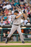 Mark Teixeira #25 of the New York Yankees at bat versus the Detroit Tigers at Comerica Park April 27, 2009 in Detroit, Michigan.  Photo by Brian Westerholt / Four Seam Images