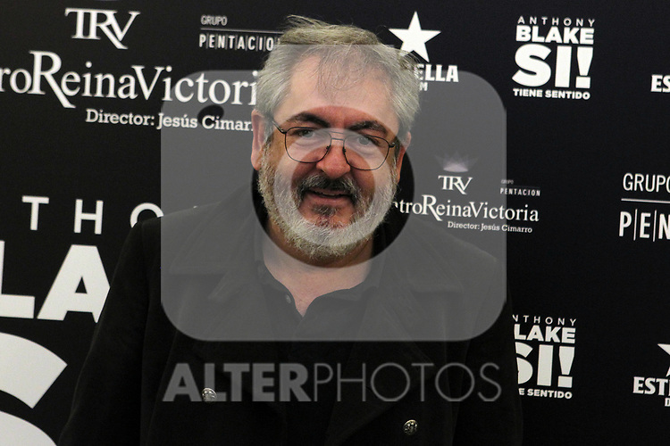 David Muro attends the presentation of Si Tiene Sentido by Anthony Blake at Teatro Reina Victoria on October 01 in Madrid, Spain.(ALTERPHOTOS/ItahisaHernandez)