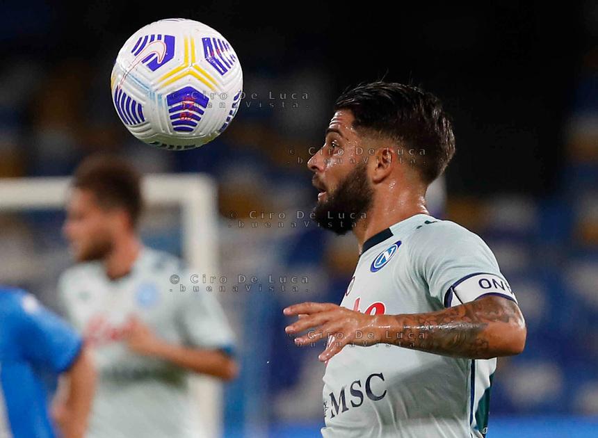 Lorenzo Insigne during a friendly match Napoli - Pescara  at Stadio San Paoli in Naples