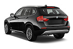 Rear three quarter view of a 2012 Bmw X1 xDrive20d 5 Door Suv 2WD