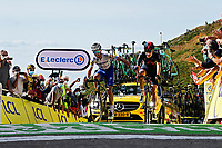 11th September 2020; Chatel-Guyon to Puy Marie Cantal, France;   ALAPHILIPPE Julian (FRA) of DECEUNINCK - QUICK - STEP during stage 13 of the 107th edition of the 2020 Tour de France cycling race, a stage of 191,5 km with start in Chatel-Guyon and finish in Puy Marie Cantal on September 11, 2020