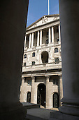 The Bank of England, Threadneedle Street, City of London.