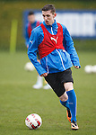 Dylan Dykes training with the first team