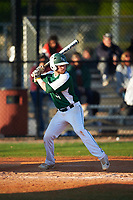 Farmingdale State Rams Ryan Kelly (9) at bat during the second game of a doubleheader against the FDU-Florham Devils on March 15, 2017 at Lake Myrtle Park in Auburndale, Florida.  FDU-Florham defeated Farmingdale 8-4.  (Mike Janes/Four Seam Images)