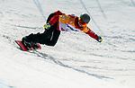 Colton Liddle, PyeongChang 2018 - Para Snowboard // Parasnowboard.<br /> Highlights of Team Canada during Para Snowboard competition // Faits saillants d'Équipe Canada lors d'une compétition de parasnowboard. 12/03/2018.