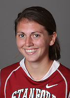 STANFORD, CA - OCTOBER 29:  Maggie Sachs of the Stanford Cardinal women's lacrosse team poses for a headshot on October 29, 2009 in Stanford, California.