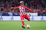 Atletico de Madrid Antoine Griezmann during UEFA Europa League match between Atletico de Madrid and Sporting de Lisboa at Wanda Metropolitano in Madrid, Spain. April 05, 2018. (ALTERPHOTOS/Borja B.Hojas)