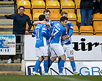 St Johnstone v Inverness Caley Thistle…03.12.16   McDiarmid Park..     SPFL<br />Liam Craig celebrates his goal with Danny Swanson, Michael Coulson and David Wotherspoon<br />Picture by Graeme Hart.<br />Copyright Perthshire Picture Agency<br />Tel: 01738 623350  Mobile: 07990 594431