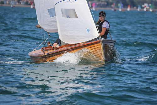 VDLR organisers are keen to see more Mermaid dinghies enter the July Regatta on Dublin Bay Photo: Afloat