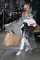 NEW YORK, NY- SEPTEMBER 23: Lara Spencer seen exiting ABC Studios in New York City on September 23, 2021. Credit: RW/MediaPunch