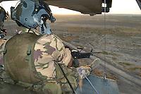 - 6° ROA (Independent Operating Unit) of the Air Force, machine-gunners on a helicopter HH 3F <br /> <br /> - 6° ROA (Reparto Operativo Autonomo) dell'Aeronautica Militare, mitraglieri a bordo di un elicottero HH 3F