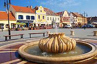 Town square, K?szeg Hungary