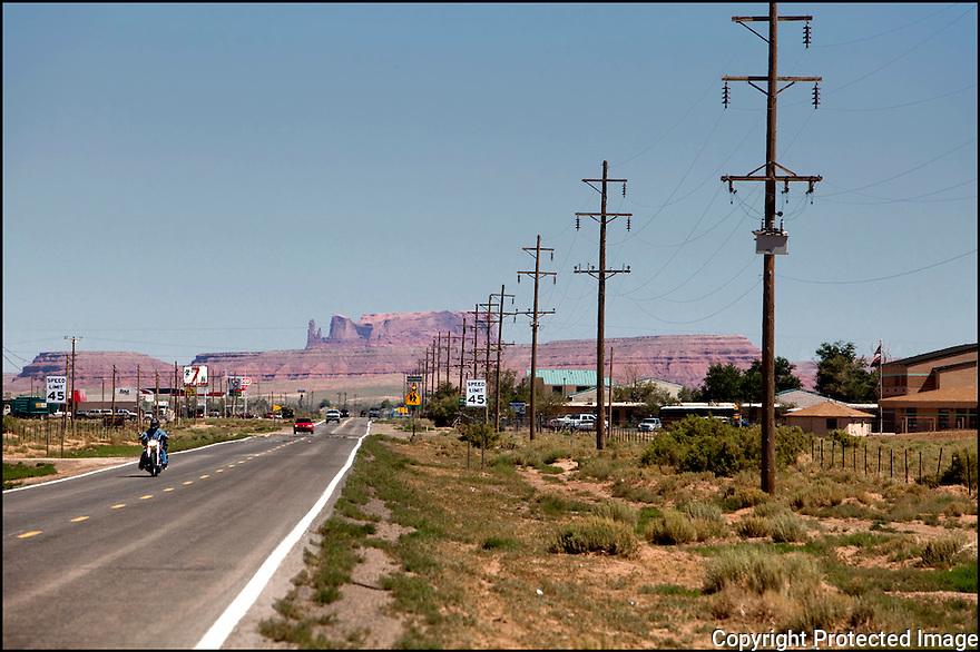Arizona-Route 66<br /> Sur la route de Cortez