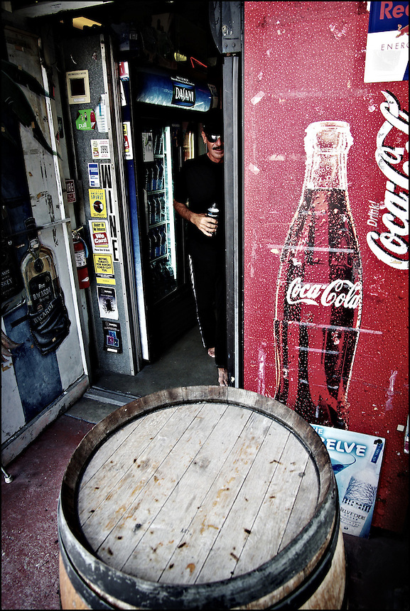 "A man with coke<br /> From ""Color Blind"" series. Miami, 2009"