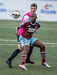 West Ham United vs Yau Yee League Select during their Main Cup Quarter-Final match as part of day three of the HKFC Citibank Soccer Sevens 2015 on May 31, 2015 at the Hong Kong Football Club in Hong Kong, China. Photo by Xaume Olleros / Power Sport Images