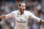 Real Madrid's Garet Bale celebrates goal during La Liga match. February 18,2017. (ALTERPHOTOS/Acero)