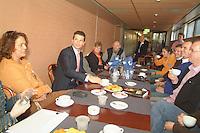 25-2-06, Netherlands, tennis, Rotterdam, Meet and Greet with Tennis Magazine