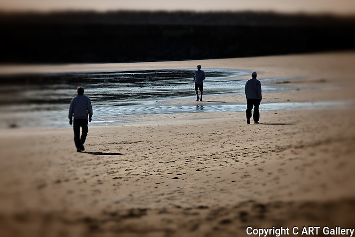 Walking on the Beach, Newport Beach, CA