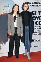 """JOAN CHEMLA (REALISATEUR), MARINE VACTH - AVANT-PREMIERE DU FILM """"SI TU VOYAIS SON COEUR"""" A L'UGC CINE CITE LES HALLES A PARIS, FRANCE, LE 08/01/2018."""