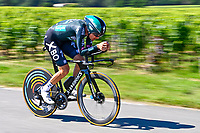 17th July 2021, St Emilian, Bordeaux, France;  KONRAD Patrick (AUT) of BORA - HANSGROHE during stage 20 of the 108th edition of the 2021 Tour de France cycling race, an individual time trial stage of 30,8 kms between Libourne and Saint-Emilion.
