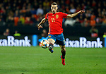 Spain's Sergio Canales during the Qualifiers - Group F to Euro 2020 football match between Spain and Norway on 23th March, 2019 in Valencia, Spain. (ALTERPHOTOS/Manu R.B.)