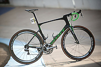 The (dusty) winning bike of the 114th Paris-Roubaix 2016: The Scott Foil as ridden by Mathew Hayman (AUS/Orica-GreenEDGE) in the Roubaix velodrome