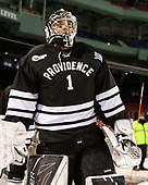 Brendan Leahy (PC - 1) - The Boston College Eagles defeated the Providence College Friars 3-1 (EN) on Sunday, January 8, 2017, at Fenway Park in Boston, Massachusetts.