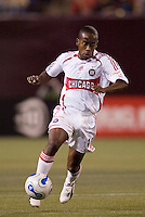 Chicago Fire's (10) Thiago. The Red Bulls played the Fire to a 1-1 tie at Giant's Stadium, East Rutherford, NJ, on May 13, 2006.