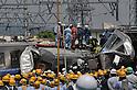 File: 10th Anniversary of Japan's Amagasaki Train Crash