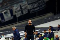 29th September 2020; Tottenham Hotspur Stadium, London, England; English Football League Cup, Carabao Cup, Tottenham Hotspur versus Chelsea; A dejected looking Chelsea Manager Frank Lampard