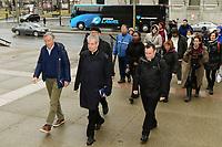Procession<br /> du Vendredi Saint, 18 avril 2019<br /> - Monseigneur Lepine<br /> <br /> <br /> PHOTO : Agence Quebec Presse