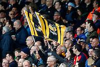 Photo: Richard Lane/Richard Lane Photography. Exeter Chiefs v Wasps. Aviva Premiership Semi Final. 21/05/2016.  Wasps flags.