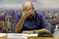 Campinas (SP), 10/03/2021 - Dario Saadi - Dario Saadi, prefeito de Campinas. O prefeito de Campinas (SP), Dario Saadi (Republicanos), realizou nesta quarta-feira (10), um anuncio com ações emergenciais que serão tomadas para o combate a covid-19 na cidade.
