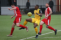 Chris Dickson of Hornchurch during Bowers & Pitsea vs Hornchurch, Emirates FA Cup Football at The Len Salmon Stadium on 2nd October 2021