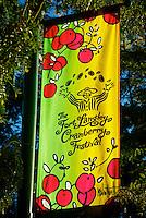 Cranberry Festival Sign Fort Langley B.C.
