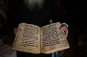 """Jerusalem - Shimon Can, 69, is a Syriac monk responsible for the library of the St. Mark's Syrian Orthodox Monastery Church, where hundreds of precious early Christian manuscripts are preserved. """"These manuscripts are a treasure that we got from our Holy Fathers, we need to preserve them for the future of our people"""", he explains."""