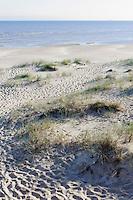 Strand bei Vaide, Lettland, Europa