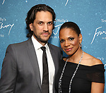 "Will Swenson and Audra McDonald during the Opening Night After Party for ""Frankie and Johnny in the Clair de Lune"" at the Brasserie 8 1/2 on May 29, 2019  in New York City."
